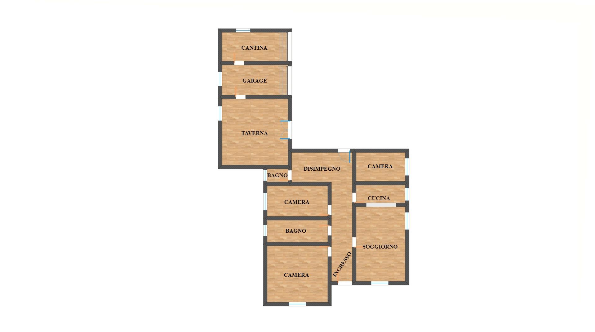 ALBIGNASEGO – SAN TOMMASO, casa singola su unico livello, da ristrutturare
